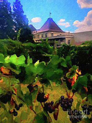 Painting - Chateau Elan  by Tammy Lee Bradley