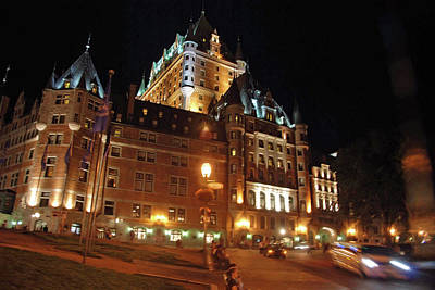 Photograph - Chateau Frontenac Quebec 2008 by John Schneider