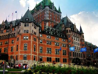 Photograph - Chateau Frontenac by Robin Regan