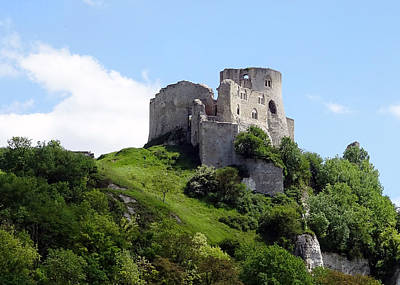 Photograph - Chateau Gaillard Castle by Gordon Beck