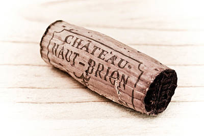 Vintage Wine Lovers Photograph - Chateau Haut-brion by Frank Tschakert