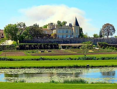 Photograph - Chateau Lafite Rothschild by Betty Buller Whitehead