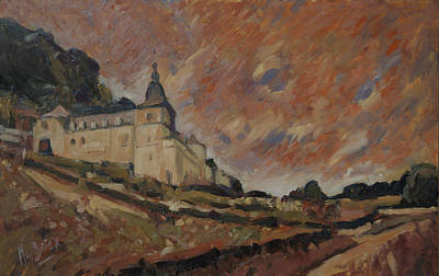 Chateau Neercanne Maastricht Art Print by Nop Briex
