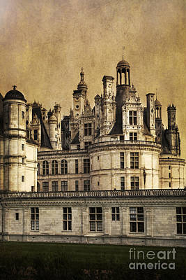 Photograph - Chateau Of Chambord  by Elena Nosyreva