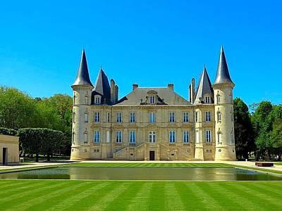 Photograph - Chateau Pichon Baron by Betty Buller Whitehead