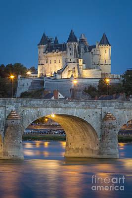 Photograph - Chateau Saumur by Brian Jannsen