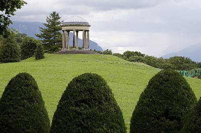 Vevey Photograph - Chateau Series, Belvedere Pavilion by Colleen Williams