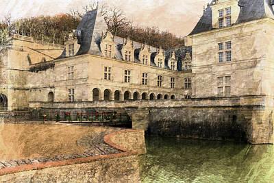 Photograph - Chateau Villandry by Hugh Smith