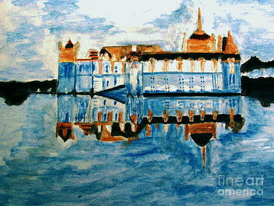 Painting - Chateaude Chantilly by Stanley Morganstein