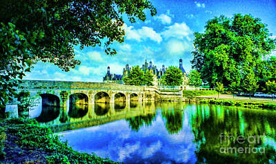 Photograph - Chateux Bridge by Rick Bragan