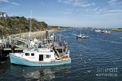 Photograph - Chatham Dock, Cape Cod by David Birchall