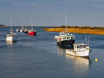 Photograph - Chatham Harbor Boats II by Marianne Campolongo