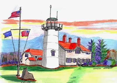 Chatham Lighthouse Original by Paul Meinerth