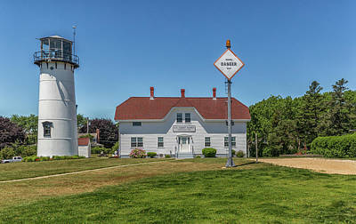 Photograph - Chatham Lighthouse Station  by Brian MacLean