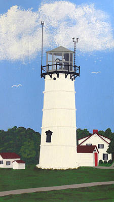 Painting - Chatham Lighthouse Tower by Frederic Kohli