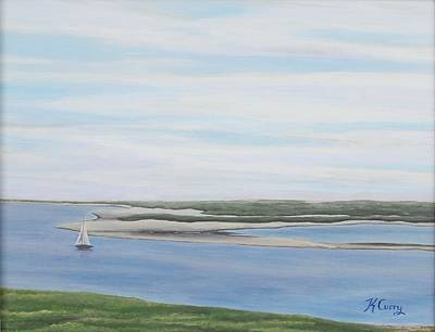 Chatham Harbor Painting - Chatham Summer Morning by Katherine Rosenberg