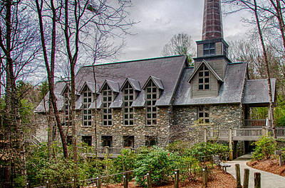 Photograph - Chatlos Memorial Chapel by Gene Sherrill