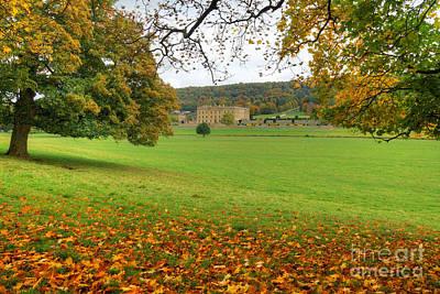 Photograph - Chatsworth Autumn View by David Birchall