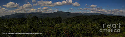 Photograph - Chattahoochee Forest Overlook by Barbara Bowen