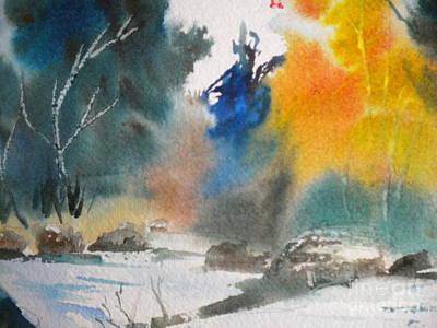 Marine Art Painting - Chattahoochee River Times by Jill Morris