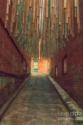 Photograph - Chattanooga Alley by Geraldine DeBoer
