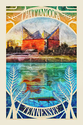 Photograph - Chattanooga Aquarium Poster by Steven Llorca