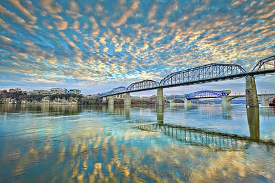 Photograph - Chattanooga Has Crazy Clouds by Steven Llorca