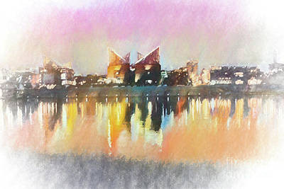 Photograph - Chattanooga Impression by Geraldine DeBoer