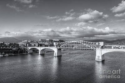 Photograph - Chattanooga Market Street Bridge II by Clarence Holmes