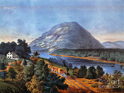 Photograph - Chattanooga Railroad by Granger