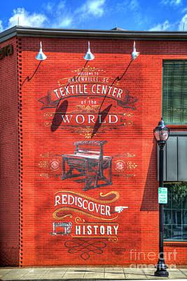 Photograph - Greenville South Carolina Building Art by Reid Callaway