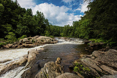 Photograph - Chattooga Bull Sluice by Sean Allen