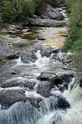Chattooga River In South Carolina Art Print by Bruce Gourley