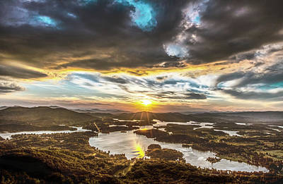 Photograph - Chatuge Lake  by Mike Dunn
