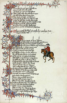 Painting - Chaucer: Canterbury Tales by Granger