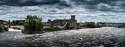 Photograph - Chaudiere Falls by M G Whittingham
