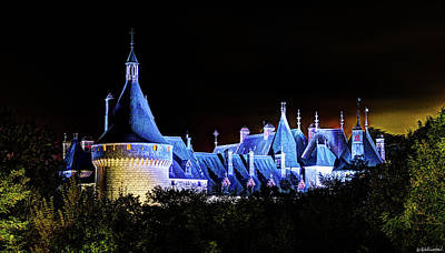 Photograph - Chaumont Castle At Night by Weston Westmoreland