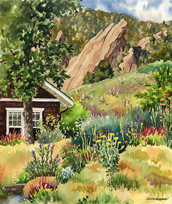 Painting - Chautauqua Cottage by Anne Gifford
