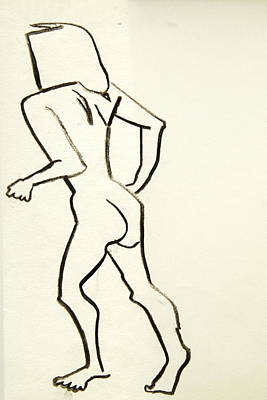 Painting - Chaville Croquis No.7 by Robert SORENSEN