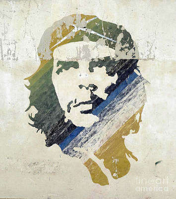 Young Man Painting - Che by Celestial Images