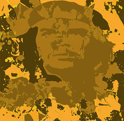 Socialism Mixed Media - Che Guevara 04a by Brian Reaves