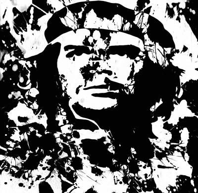 Socialism Mixed Media - Che Guevara  04c by Brian Reaves