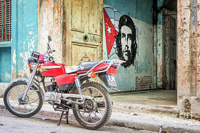 Havana Photograph - Che Guevara by Delphimages Photo Creations