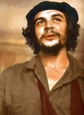 Marxism Painting - Che Guevara by Peter Oswald