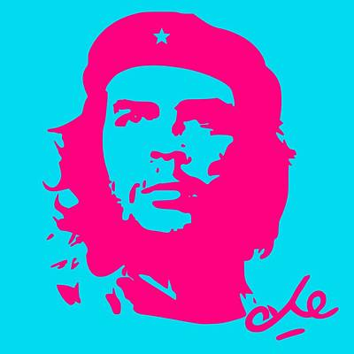 Royalty-Free and Rights-Managed Images - Che Guevara Poster 9 by Celestial Images