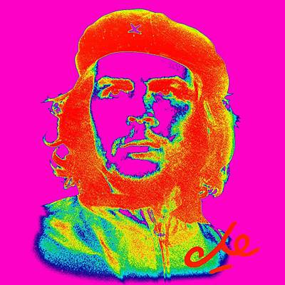 Royalty-Free and Rights-Managed Images - Che Poster 5 by Celestial Images