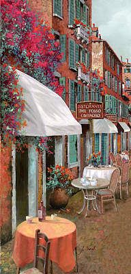 Paintings - Che Tavolo Vuoi by Guido Borelli