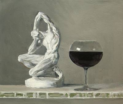Painting - Was It The Wine? by Robert Holden