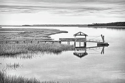 Photograph - Chechessee Dock by Scott Hansen