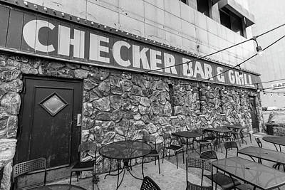 Photograph - Checker Bar And Grill Detroit  by John McGraw